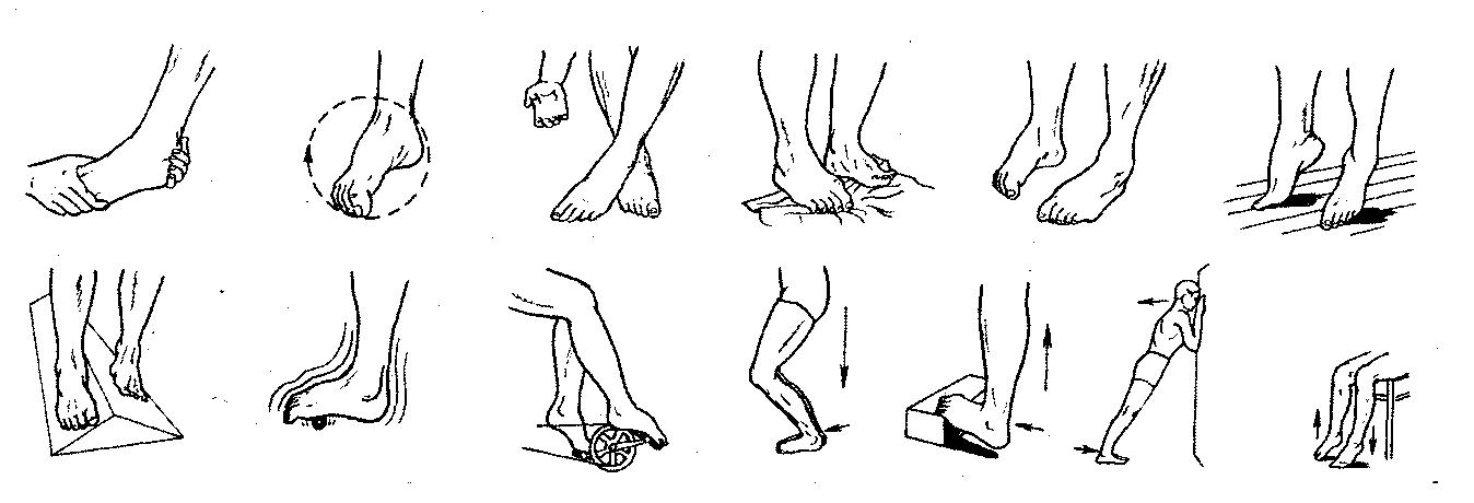 этой упражнение для стопы ног в картинках был творческим директором